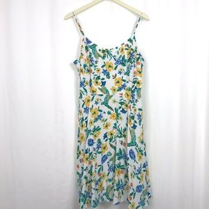 Floral Tank Dress - Fully Lined